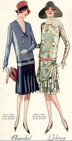 1920s Dress patterns for young ladies                                                                                                                                                                                 More