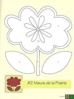 Molde 2 | Risco retirados da revista francesa Magicpatch. | Valéria G | Flickr Applique Quilt Patterns, Applique Templates, Felt Patterns, Applique Designs, Embroidery Applique, Flower Patterns, Embroidery Patterns, Owl Templates, Flower Template