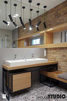 łazienka loftowa - zdjęcie od MIKOŁAJSKAstudio