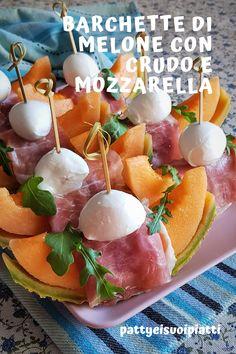 A Food, Food And Drink, Recipe Boards, Light Recipes, Bon Appetit, Fruit Salad, Finger Foods, Italian Recipes, Buffet