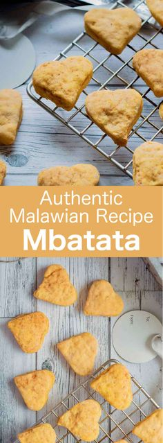 Malawi: Mbatata - 196 flavors - Authentic World Cuisine Website - Malawi: Mbatata Mbatata have the same appearance as regular cookies. However, those delicious sweet potato treats from Malawi are slightly softer. Sweet Potato Cookies, International Recipes, Love Food, Dessert Recipes, Sweet Desserts, Sweet Treats, Favorite Recipes, Snacks, Cooking