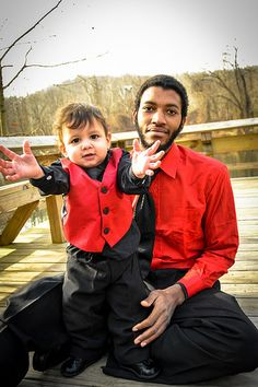 Bj and Daddy (c)2014 Kayla Norris