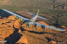 """Aircraft Type: Boeing B-17G Flying Fortress """"Sentimental Journey"""" Organization: Commemorative Air Force – Airbase Arizona Photo Credit: Jay Beckman"""