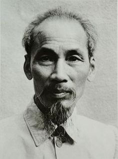 Ho Chi Minh - Former Vietnam President. Founder of Viet Cong during Vietnam War.