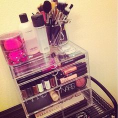 I need this to organize my make up! I have tons if it!