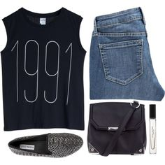 1991. by rosiee22 on Polyvore featuring moda, Monki, Old Navy, Steve Madden, Alexander Wang and Marc Jacobs