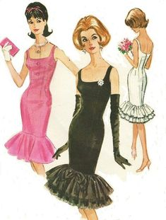 Mccalls Sewing Patterns, Vintage Sewing Patterns, Dress Patterns, 1960s Fashion, Vintage Fashion, Fashion Sewing, Vintage Style, Junior Dresses, Pattern Fashion