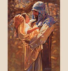 """""""Holding Heaven"""" by Ron Dicianni --- Joseph holding Jesus Catholic Art, Catholic Saints, Religious Art, Religious Symbols, Roman Catholic, Religious Pictures, Jesus Pictures, St Joseph Pictures, Images Bible"""