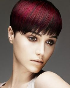 Awesome hair color! Visit http://www.xexchicago.com/hair-nail-trends-2012/ for our 2012 hair trend blog post.