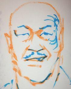 いいね!9件、コメント1件 ― @1mindrawのInstagramアカウント: 「#1mindraw #miketyson #マイクタイソン #19660630 #birthday #誕生日 #portrait #筆ペン画」