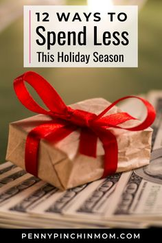 The holidays bring joy, family, parties and gifts. It is a time to spend with family and friends. Sadly, it can also be a time of excessive spending. Here are some things you can do to help make sure that you are keeping your spending in check. Best Money Saving Tips, Ways To Save Money, Saving Money, Money Tips, Christmas On A Budget, All Things Christmas, Living Room Decor On A Budget, Life On A Budget, Oh Deer