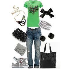 Fox Clothing, created by jwink88 on Polyvore