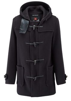 Mens | Mid Length Duffle Coat 58 | Gloverall | Gloverall