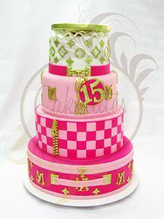 Caketutes Cake Designer: Cake Louis Vuitton Inspired