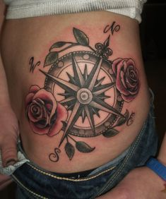 Compass Tattoos for Women | Compass Tattoos Designs, Ideas and Meaning