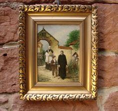 Der Kunst Blog: Interessantes Ölgemälde auf Eichenholz: Das Armenb...
