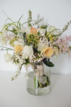 Natural Fun Handmade Wedding Blush Bouquet http://www.kkotkiewicz.co.uk/