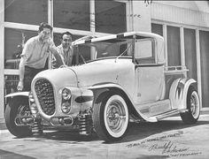 George Barris | George Barris & Budd Anderson with the Ala Kart