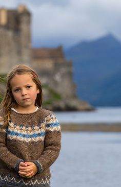 Ravelry: Fjall Sweater Kit pattern by Sarah Berry