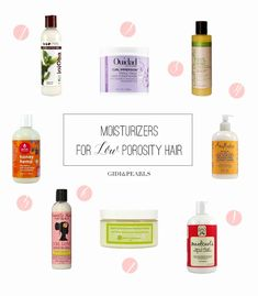 Hair care Ideas : Most naturals either have low porosity or high porosity hair. You can test this