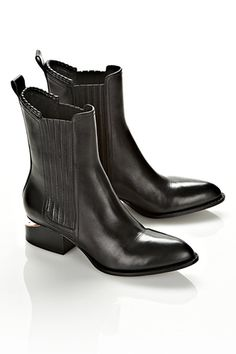 Perfect Flat Boots To Conquer Any Hill #refinery29  Alexander Wang Anouck Chelsea Boot, $595