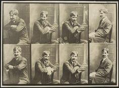 Portrait photographs of Henry Lawson (circa 1915-1922)