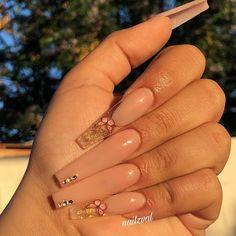 lenawinkels - 0 results for summer acrylic nails coffin Bling Acrylic Nails, Aycrlic Nails, Summer Acrylic Nails, Best Acrylic Nails, Swag Nails, Summer Nails, Toenails, Cute Acrylic Nail Designs, Long Nail Designs