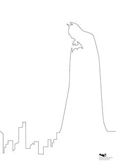 Minimal Illustrations Of Batman Characters Made With A Single Line