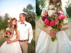 floral head wreath, organic natural wedding bouquet utah wedding flowers calie rose