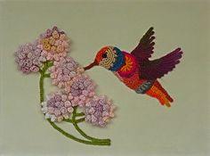 crochetart   Hummingbird