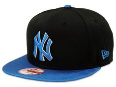 Boné New Era 9FIFTY Strapback New York Yankees Preto-Azul New York Yankees babad28358590