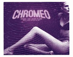 GigPosters.com - Chromeo - How I Became The Bomb - Breakbot