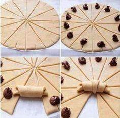 ricetta-cornetti-alla-nutella