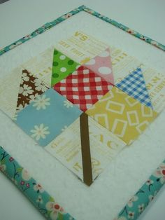 Bee in my Bonnets Farmers Wife Quilt Along Block...she has great tutorials on the blocks