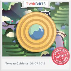 Arranqué la Gota de Rocío del césped en la Terraza Cubierta. - playtwo.do/ts #TwoDots