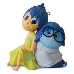 Disney/Pixar Legends Inside Out Joy and Sadness Ornament,