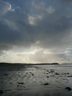 Murvagh Beach, near Donegal Town in Ireland. As kids we knew it as the Backstrands.