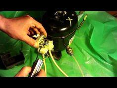 How to Modify a Fridge Compressor Into a Silent Air Compressor: 3 Steps