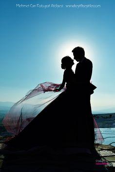 Wedding day photo. Pamukkale / Turkey www.keyifliseyirler.com