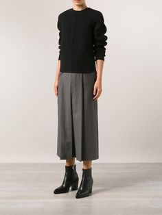 Alexander Wang Box Pleat Trousers - Hu's Wear - Farfetch.com