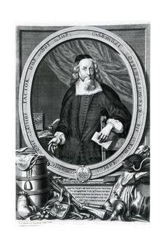 Giclee Print: Samuel Oppenheimer (1630-1703) by Johann Andreas Pfeffel : 24x16in