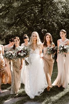 Vintage Wedding Bridesmaid Dresses