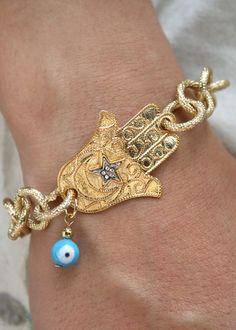 hamsa bracelet...love it