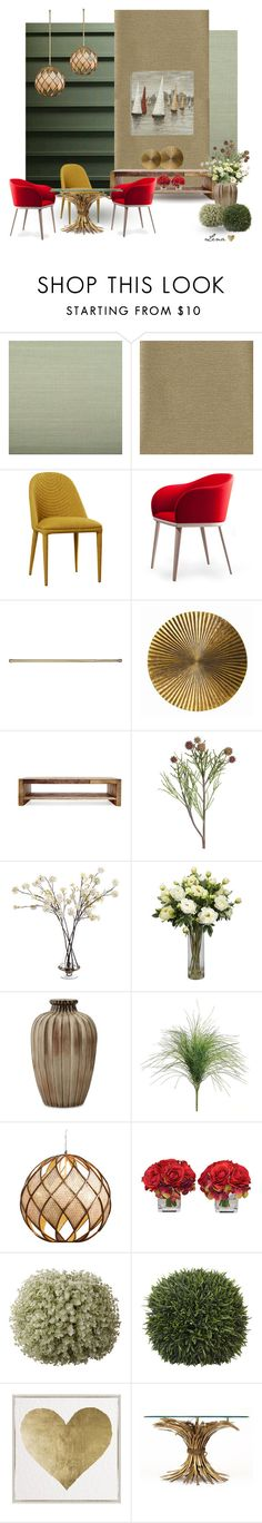 """Interior"" by lenadecor ❤ liked on Polyvore featuring interior, interiors, interior design, home, home decor, interior decorating, Ballard Designs, Arteriors, Verge and John-Richard"