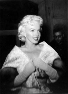 Marilyn at the East of Eden premiere, 1955.