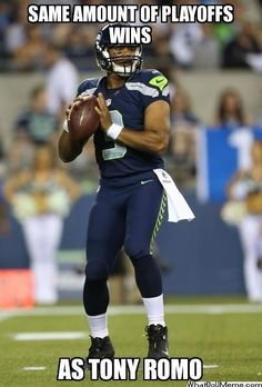 Russell Wilson, former Badger and future MVP.