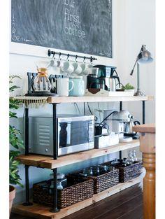 Bar cart in huis? Maak er eens een coffee cart van!