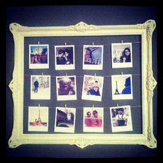 Old frame DIY