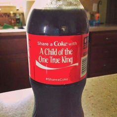 Has anyone actually seen this on Coke bottles?  Wow and awesome if this is true.