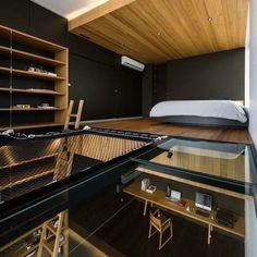 Study and loft bedroom